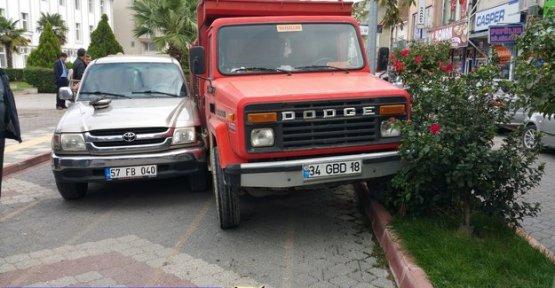 Atatürk Caddesinde Kaza