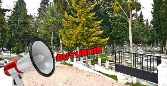 Mezarlık Yeri Aranıyor