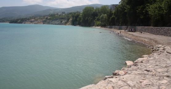 Gerze'nin Denizi Yüzülebilir Temizlikte.