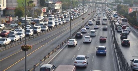 Sinop'ta Araç Sayısı Arttı.