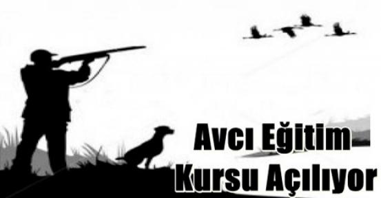 Avcılık Kursu Açılıyor!