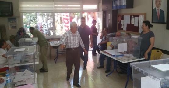 CHP Delege seçimlerini Tamamladı