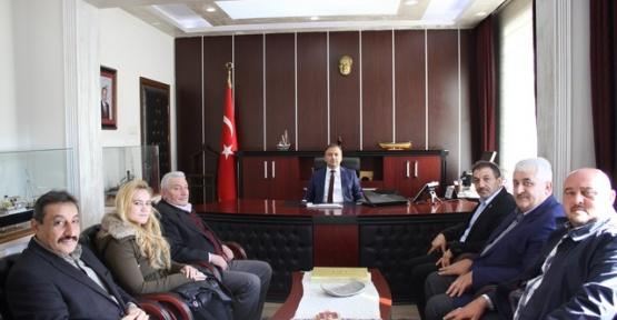 AK Partiden Kaymakam Murat Güven'e Ziyaret