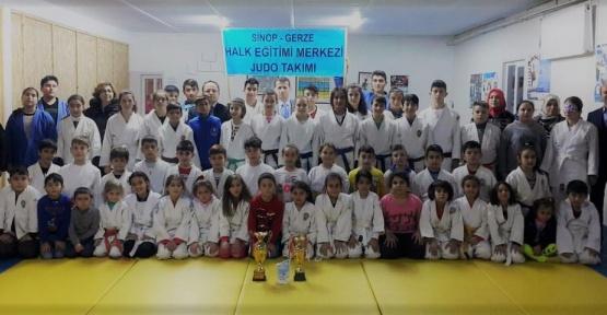Gerzeli Judocuların 2017'deki Başarıları Kutlandı