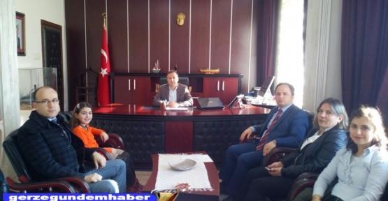 Türkiye Birincisinden Kaymakam Murat Güven'e Ziyaret