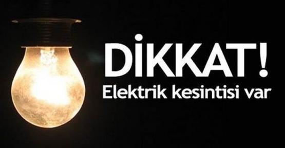 Elektrikler Kesiliyor