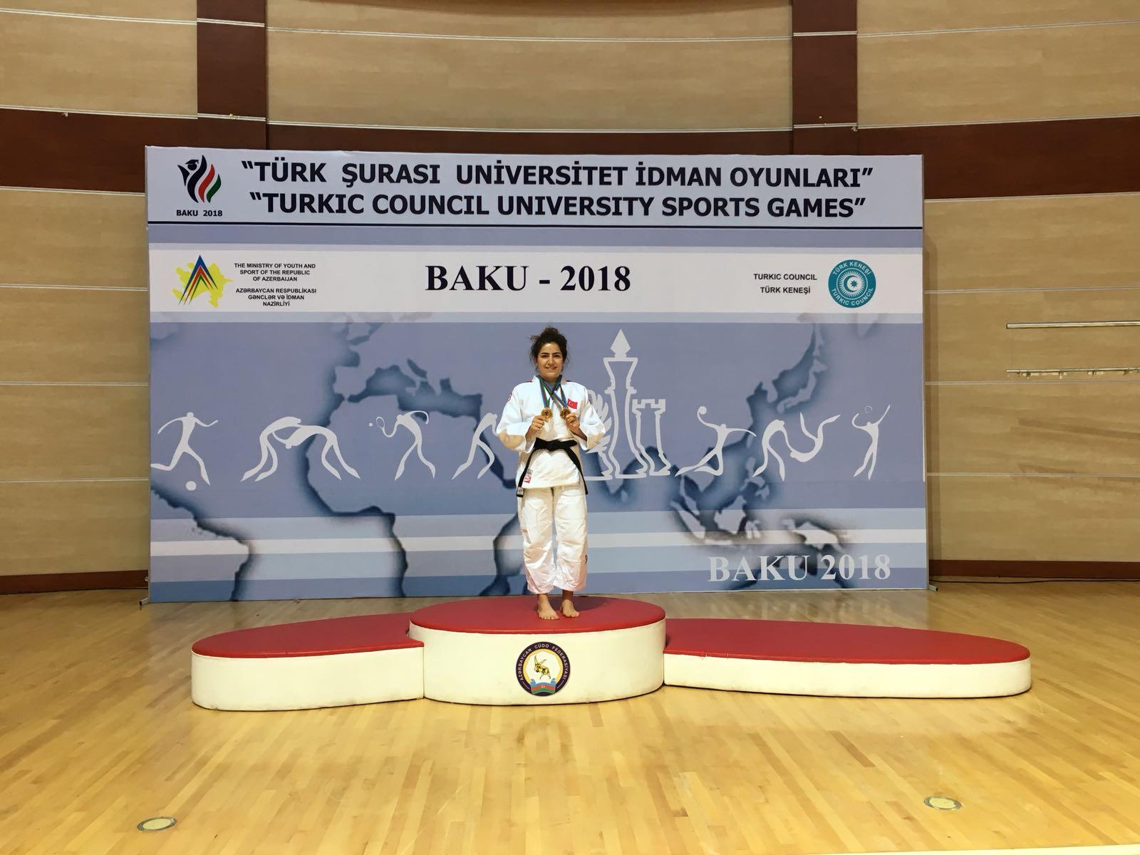 Gerzeli Judocudan Azerbaycan'da Büyük Başarı