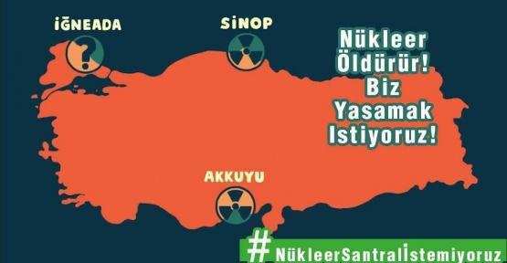 Nükleer Karşıtları Sinop'ta Buluşuyor