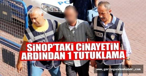 Cinayet Sonrası Bir Kişi Tutuklandı