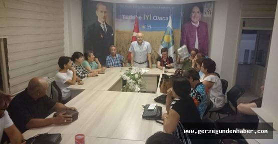 İYİ Parti İl Başkanlığı Görevi Aslana Verildi