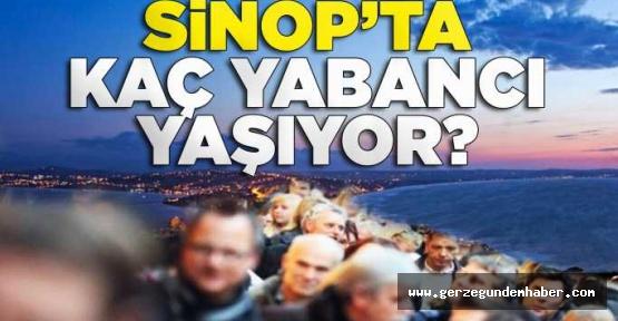Sinop'ta, 2 Bin 128 Yabancı Yaşıyor