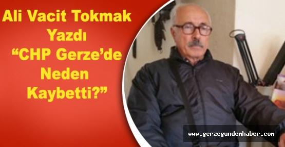 Ali Vacit Tokmak Yazdı