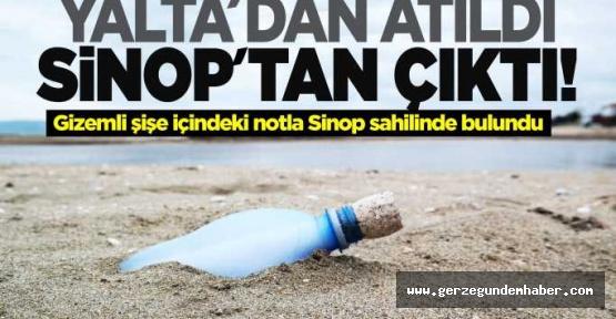 Komşu Kıyılardan Sinop'a gelen mesaj
