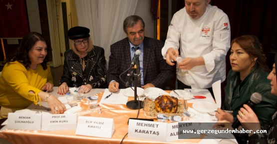 Sinop Yemekleri Ulusal Arenada
