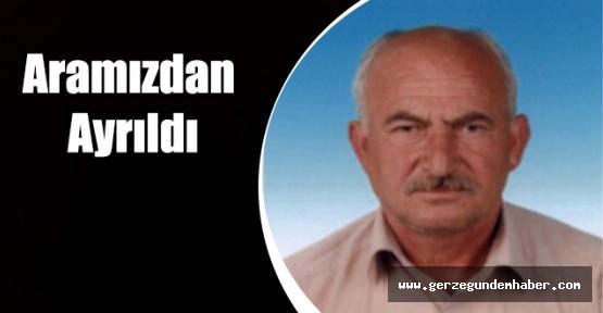 Sarıyer Köyü Muhtarı Hayatını Kaybetti.