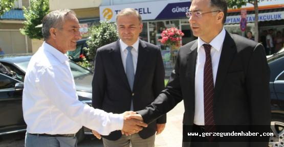 Sinop Valisi Köksal Şakalar Gerze'de