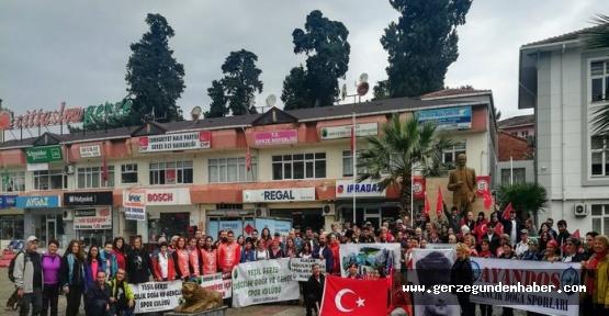 GERDAK-2013'den Özel Yürüyüş
