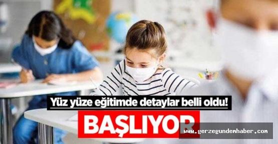 Sinop'ta yüz yüze eğitimle ilgili son dakika açıklaması
