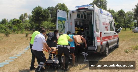 Sinop#039;ta baba ve iki çocuğu boğulma tehlikesi geçirdi