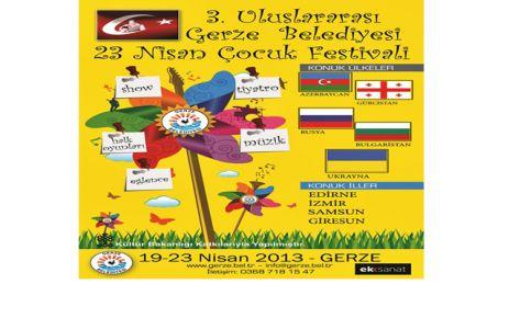 23 Nisan Çocuk Festivali Başlıyor