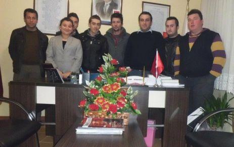 AK Parti Gençlik Kollarından kutlama.