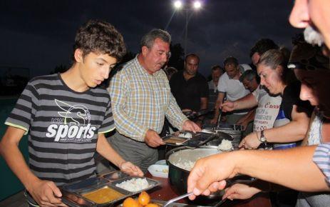 Başkan' dan Çalışanlara İftar Yemeği…