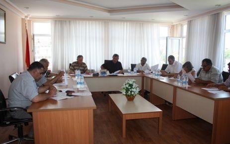 Belediye Meclisi Toplandı.