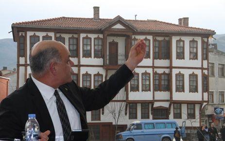 CHP Grup Başkan Vekili İl Genel Meclis Üyesi Abdullah BATUR basın açıklaması