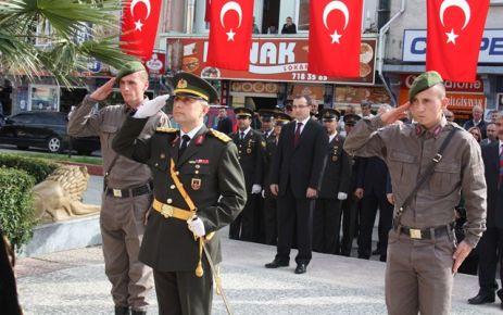 Cumhuriyetin 89.yıl kutlamaları başladı.