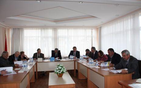Gerze Belediye Meclisi Toplandı