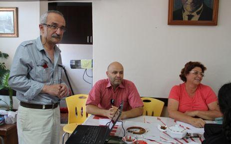Gerze CHP'de Eğitim Semineri