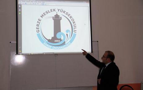 Gerze MYO, Yeni Logosunu Basına Tanıttı