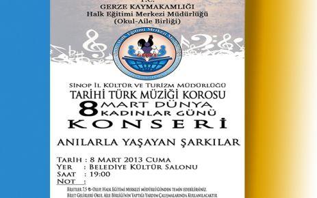 Halk Eğitimden Tarihi Türk Müziği Konseri