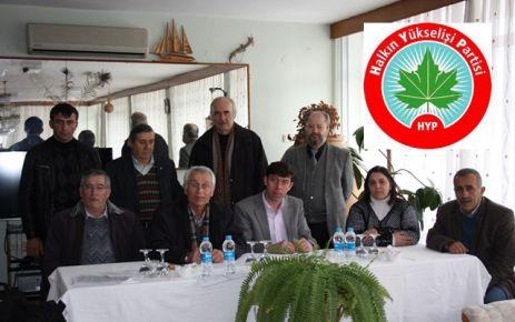 HYP Gerze İlçesi Teşkilatını Kurdu