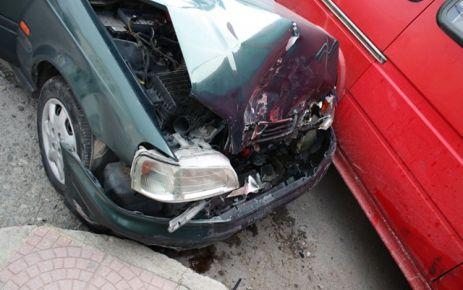 İlçe Merkezinde Kaza