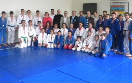 Judo Sporunun Ağır Topları Gerze'de