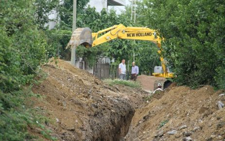 Kanalizasyon Terfi Merkezi İnşaatına Başladı.