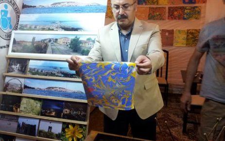 Köşger'den Ebru Sanatına ilgi
