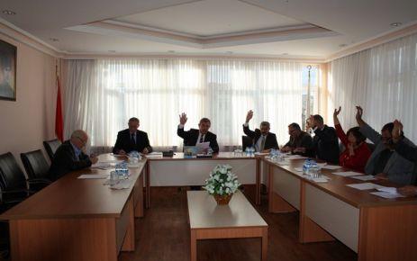 Meclis Aralık Toplantısını Yaptı.