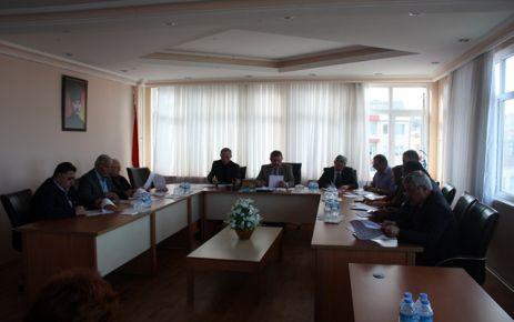 Meclis Kasım Ayı Toplantısını Yaptı.