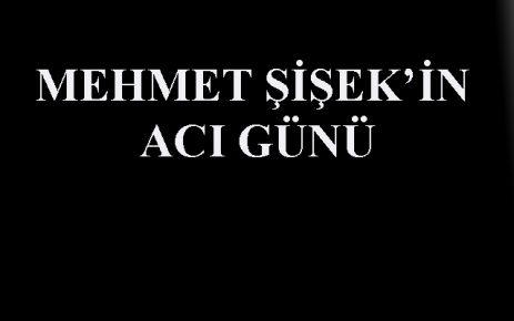 Mehmet Şişek in Babası Vefat Etti.