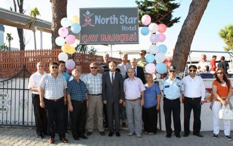 North  Star Çay Bahçesi Açıldı