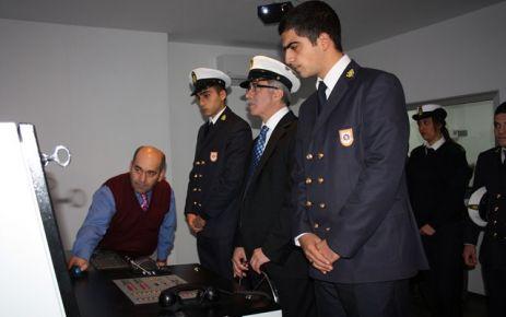 Sinop Üniversitesi Rektörü Yüksekokul' da.