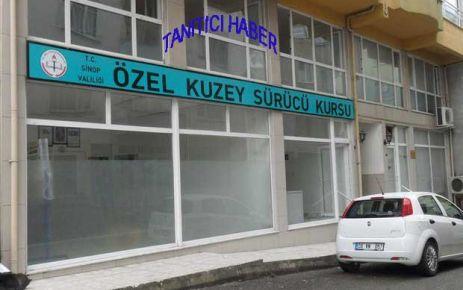 Sinop'a bir sürücü kursu daha