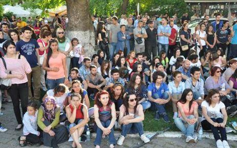 Sinop'tan Taksim'e Destek