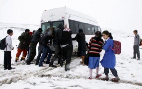 Taşımalı Öğrencilere Tatil