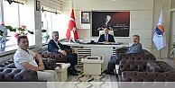 Başkandan Rektör Dalgına Ziyaret