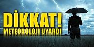 """Meteoroloji Uyardı, Çarşambaya Dikkat"""""""