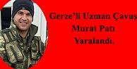 Gerze'li Uzman Çavuş Yaralandı