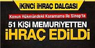 Sinop'ta 51 Kamu Görevlisinin İşine Son Verildi